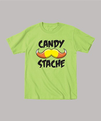 Key Lime 'Candy Stache' Tee - Toddler & Boys