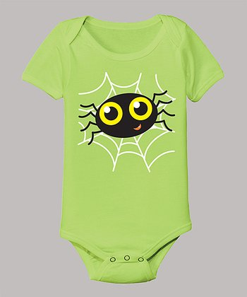Key Lime Spider Bodysuit - Infant