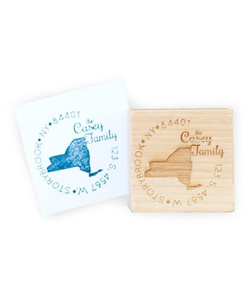 New York Personalized Stamp