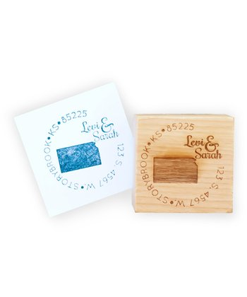 Kansas Personalized Stamp