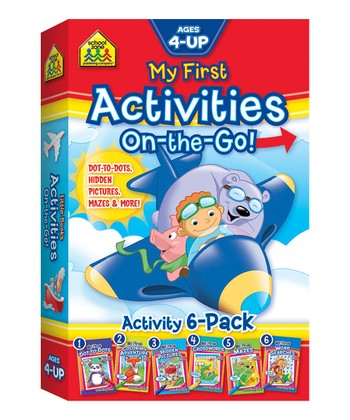 My First Activities On-the-Go Paperback Set
