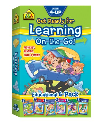 Get Ready for Learning On-the-Go Book Set