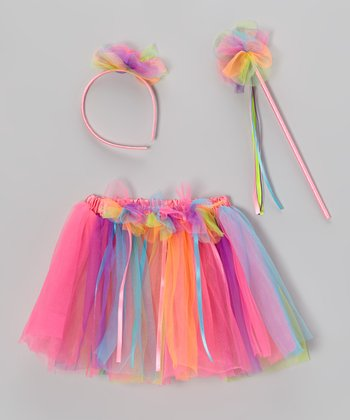 Rainbow Birthday Skirt Set