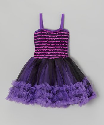 Purple Pettiskirt Dress - Toddler & Girls