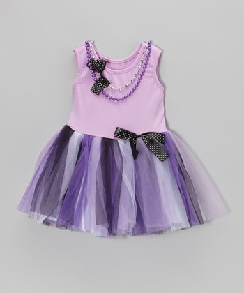 Lilac Pearl Princess Dress - Toddler & Girls