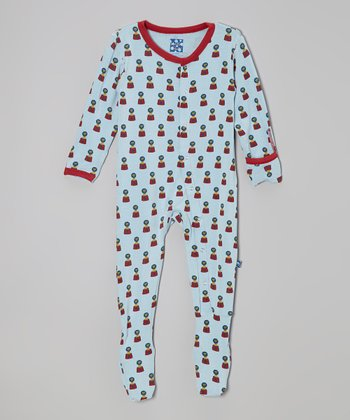 KicKee Pants Pond Lion Footie - Infant