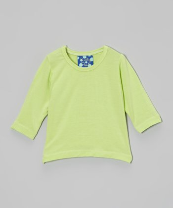 KicKee Pants Spring Grass Long-Sleeve Tee - Infant & Toddler