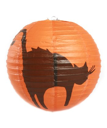Scary Cat Paper Lantern - Set of 12