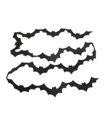 Bat Felt Garland - Set of Two
