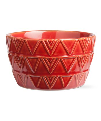 Red Sierra Stoneware Bowl