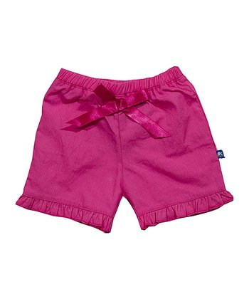 Candy Woven Ruffle Shorts - Infant & Toddler