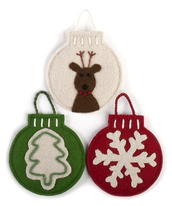 Magical Christmas Wool Gift Card Holder Set