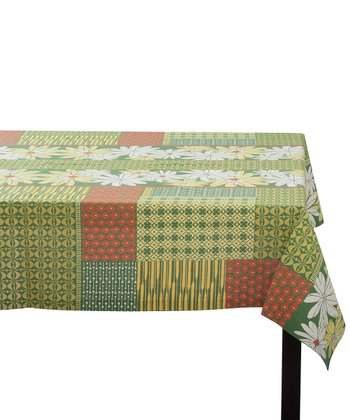 Green Arbor Garden Rectangular Tablecloth