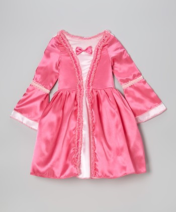 Fuchsia Fairy Tale Bow Dress - Toddler & Girls