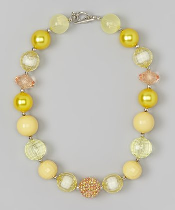 Yellow Princess Necklace