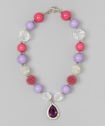 Purple Amulet Princess Necklace