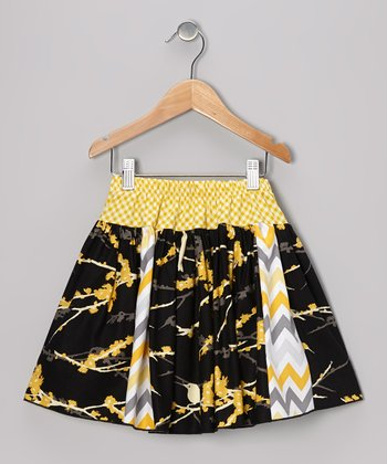 Black Tori Skirt - Toddler & Girls