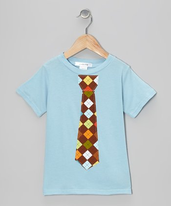 Blue Harvest Celebration Tie Tee - Infant, Toddler & Boys