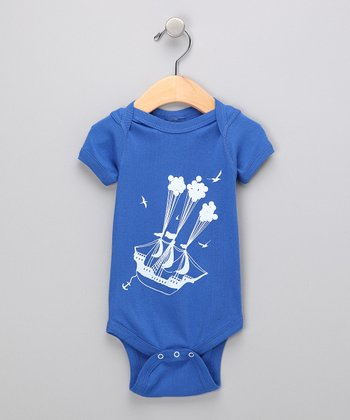 Royal Sail Away Bodysuit - Infant