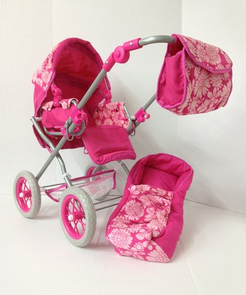 Pink Doll Carriage