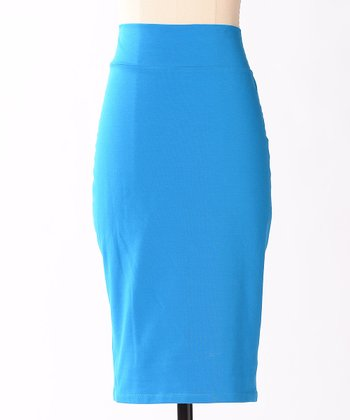 Blue Third Street Skirt