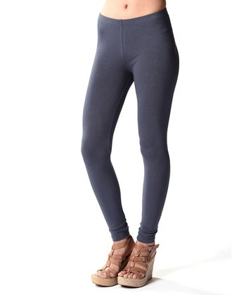 Dark Gray Ankle Leggings
