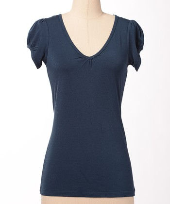 Navy Favorite V-Neck Tee