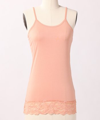 Light Peach Lace Camisole
