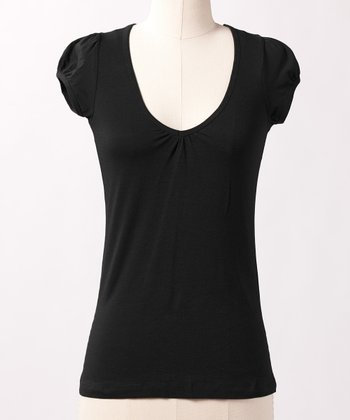 Slate Black Favorite V-Neck Tee