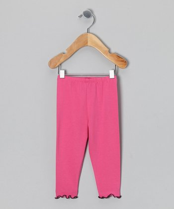 Fuchsia Leggings - Infant, Toddler & Girls