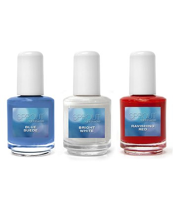 Night Shades Patriotic Nail Polish Set