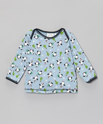 Blue Penguin Tee - Infant