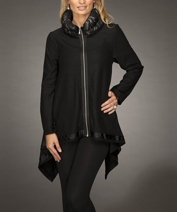 Black Sidetail Jacket