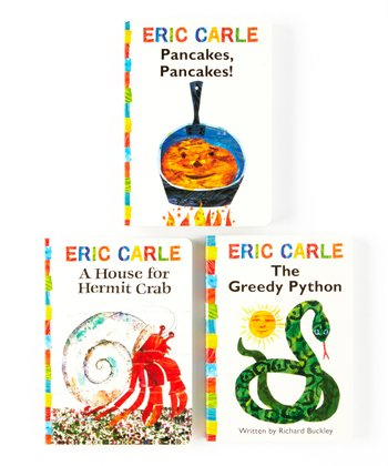 Eric Carle Favorites Board Book Set
