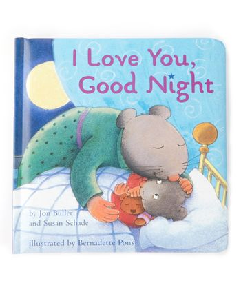 I Love You, Good Night Padded Board Book