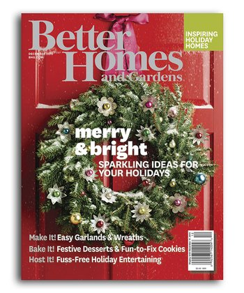 Better Homes Gardens Print Or Digital Magazine
