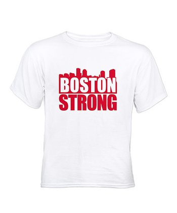 White 'Boston Strong' Tee