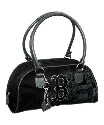 Boston Red Sox Black Caprice Handbag