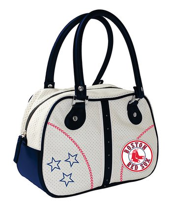 Boston Red Sox White Ethel Handbag