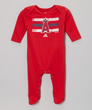 Los Angeles Angels Stripe Footie - Infant