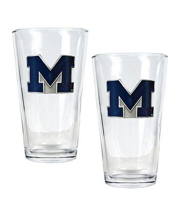 Michigan Pint Glass - Set of Two