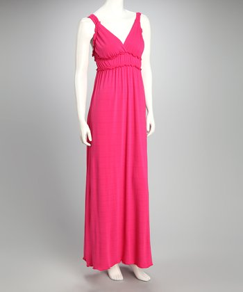 Peony V-Neck Maxi Dress