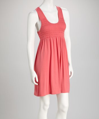 Salmon Racerback Dress