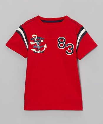 Holly Red Anchor Tee - Boys