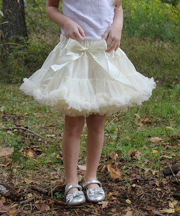 Ivory Pettiskirt - Infant, Toddler & Girls