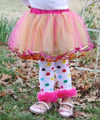 Rainbow Sequin Tutu - Infant & Girls