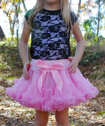 Pink Pettiskirt - Infant, Toddler & Girls