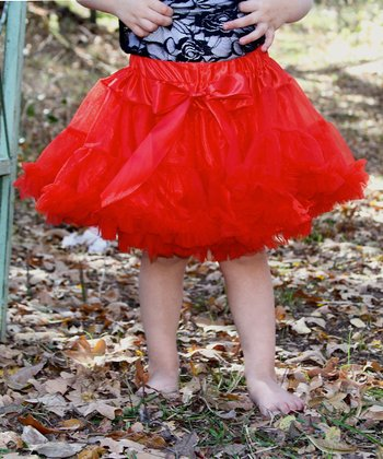Red Pettiskirt - Infant, Toddler & Girls