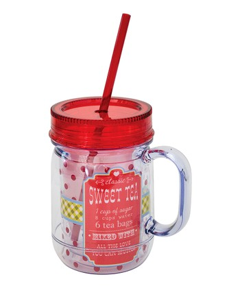 Boston Warehouse 'Sweet Tea' 20-Oz. Mason Jar Tumbler