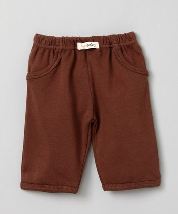Brown Lounge Pants - Infant
